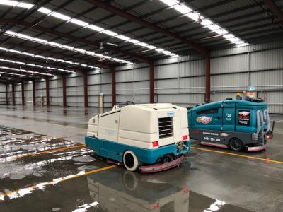warehouse sweepers in Brisbane