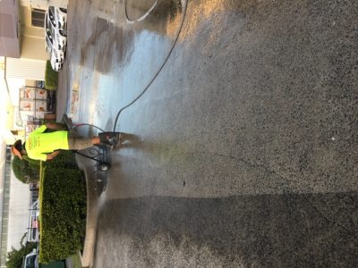 pressure cleaning at underwood