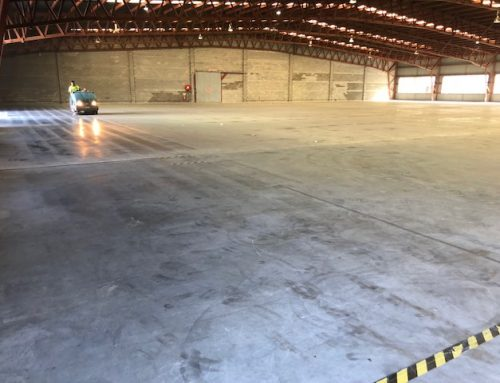 Sweeping Warehouse at Darra